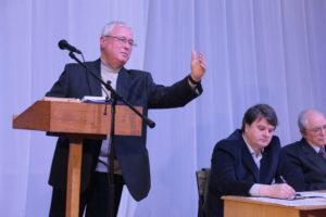 Молдавский ученый-историк и филолог, почетный председатель МИГО Василий Стати